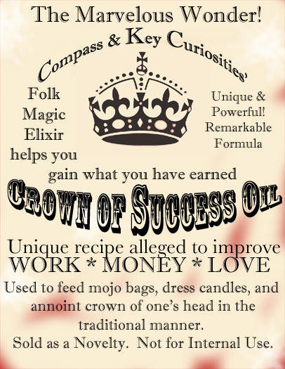 crown of success | New World Witchery - The Search for American
