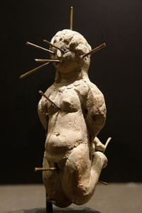 """Voodoo Doll,"" featured at the Louvre, Paris. © Marie-Lan Nguyen / Wikimedia Commons, via Wikimedia Commons"