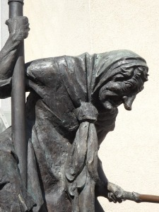 Statue of a Witch, by Gegenbach (Public Domain)