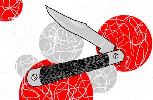 Image of pocket knife