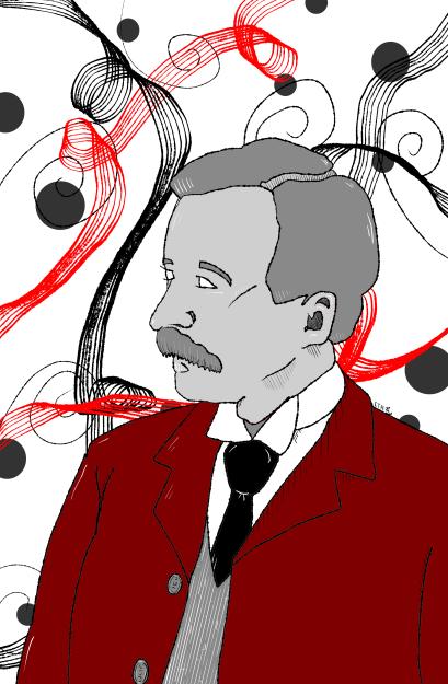 Illustration of Charles Chesnutt