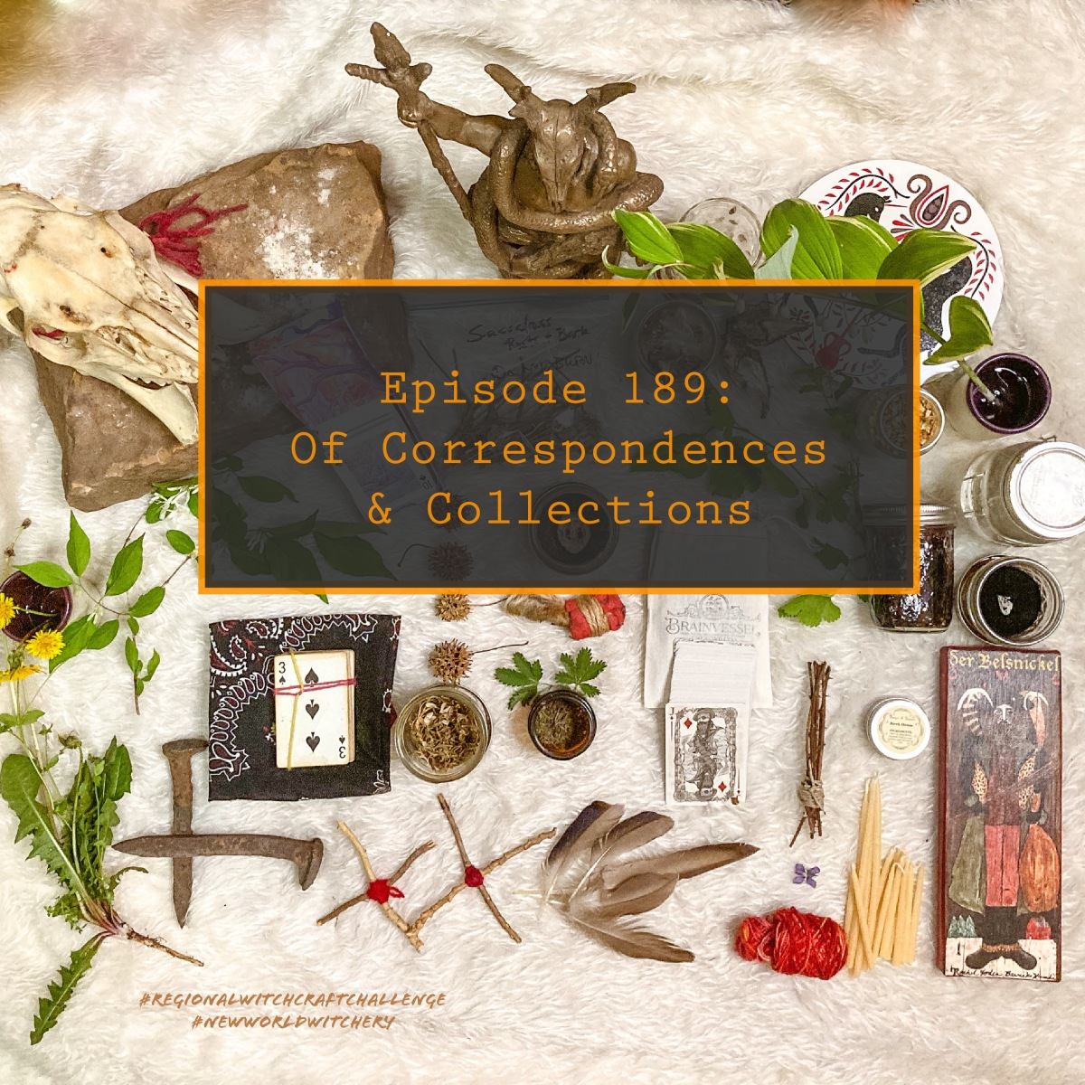 Episode 189 – Of Correspondences andCollections