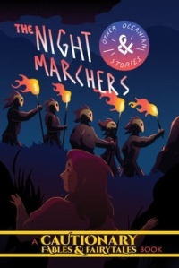 Cover of graphic novel The Night Marchers from the Cautionary Fairy Tales & Fables series